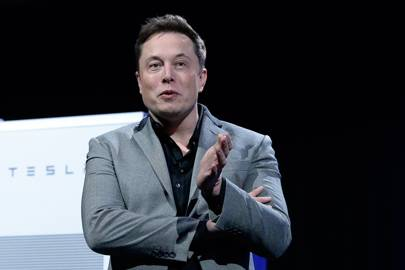 Elon Musk, CEO and product architect of Tesla Motors and chairman of SolarCity