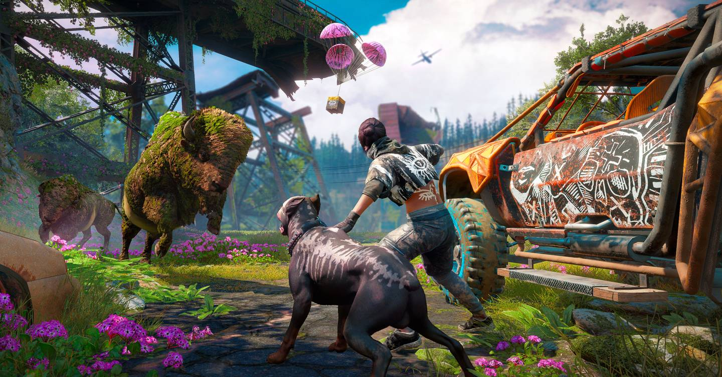 Far Cry New Dawn Why Don T More Games Recycle Open Worlds Wired Uk