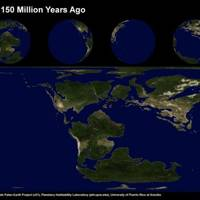 Earth 150 Million Years Ago
