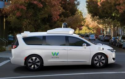 Alphabet Waymo self-driving car