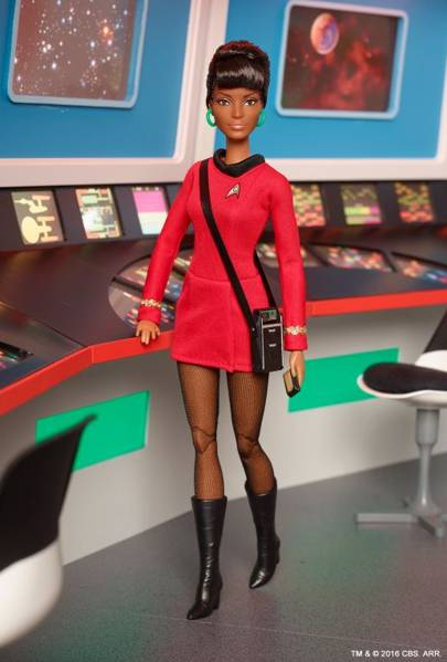 Uhuru doll released to celebrate Star Trek's 50th anniversary