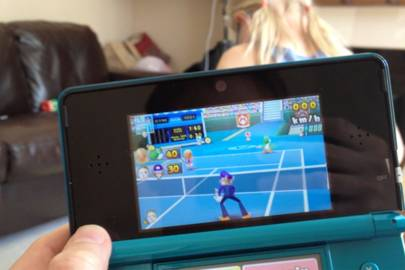 Mario Open Tennis multiplayer