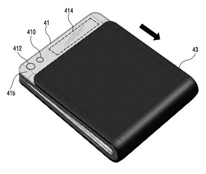 Samsung's 2016 folding phone patent harks back to earlier flip-phone designs