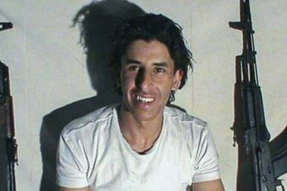 An image of gunman Seifeddine Rezgui posted to a Daesh-affiliated social-media account after his June 16 attack