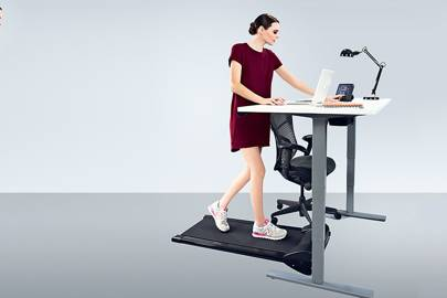 Office Fitness Treadmill: The loud motor had Wired reaching for the hi-fi volume