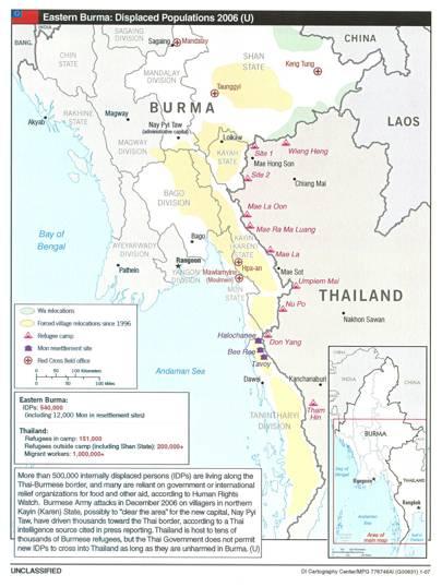 2007 Burma population