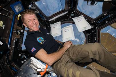 Tim Peake rocket seeds