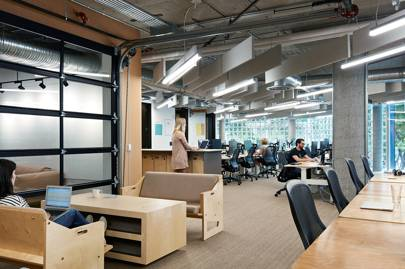 Airbnb 39 s new offices plywood castles and sky high boats - Airbnb san francisco office phone number ...