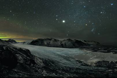 Skaftafell Starry Night
