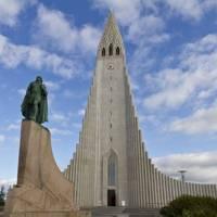 Hallgrímskirkja, the largest church in Iceland