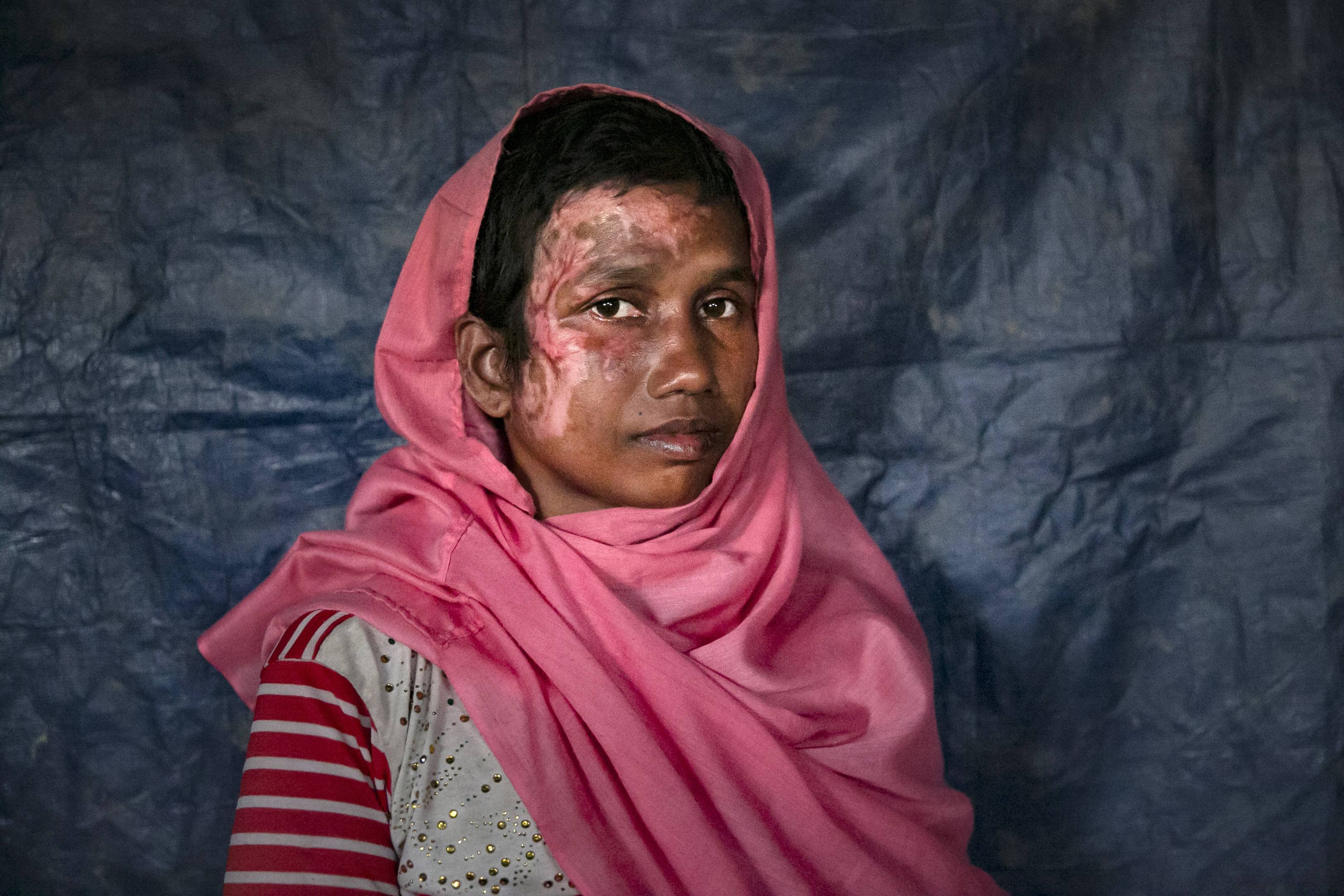 Tagged, tracked and in danger: how the Rohingya got caught