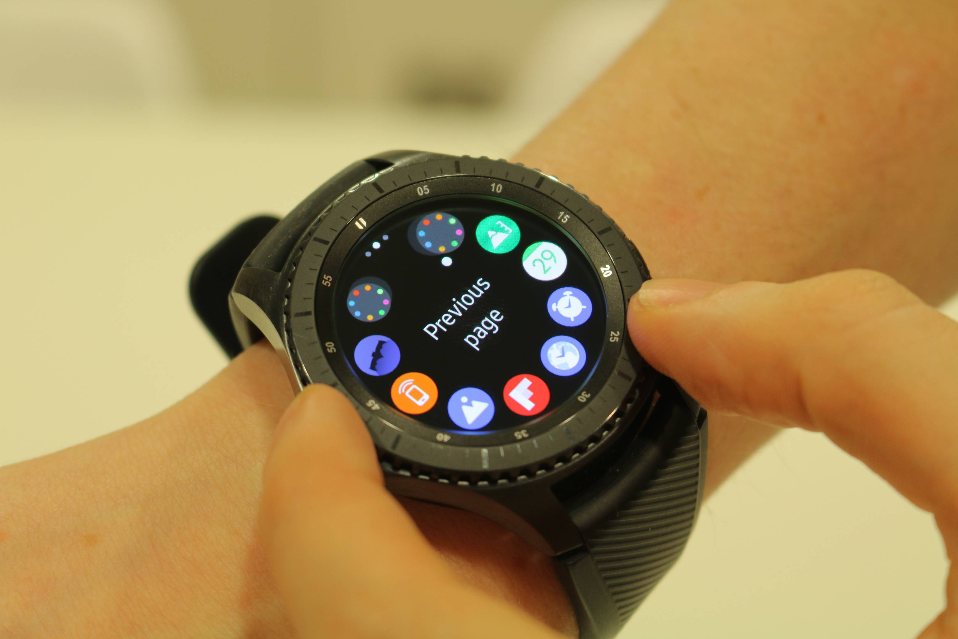 new products 61485 4776d Samsung Gear S3 Frontier review | WIRED UK