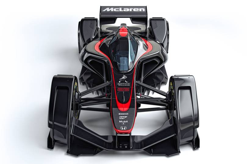 McLaren's F1 MP4-X concept car is brain-controlled   WIRED UK