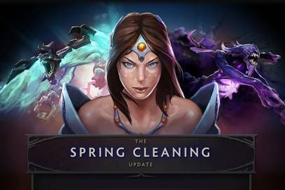 Still unsure if Valve's definition of Spring Cleaning involves laying landmines around the house for players to stumble over