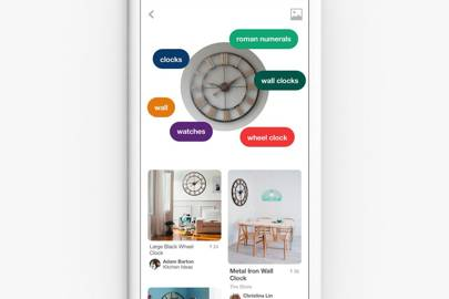 Pinterest's Lens tool lets you take photos of real-world objects and find them on the web