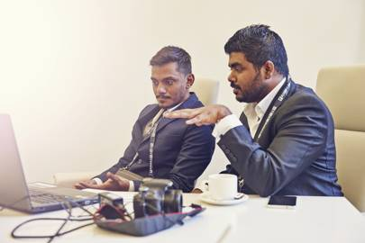 Yameen Rasheed and Mohamed Shuraih are behind the Blood Drive project