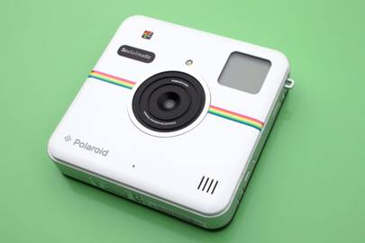 Polaroid's camera prints pics and posts to Instagram