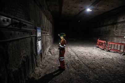 1st place: Simon Wright at the Boulby Underground Laboratory in North Yorkshire