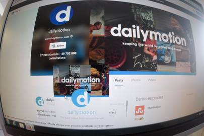 Dailymotion is a French site, similar to YouTube
