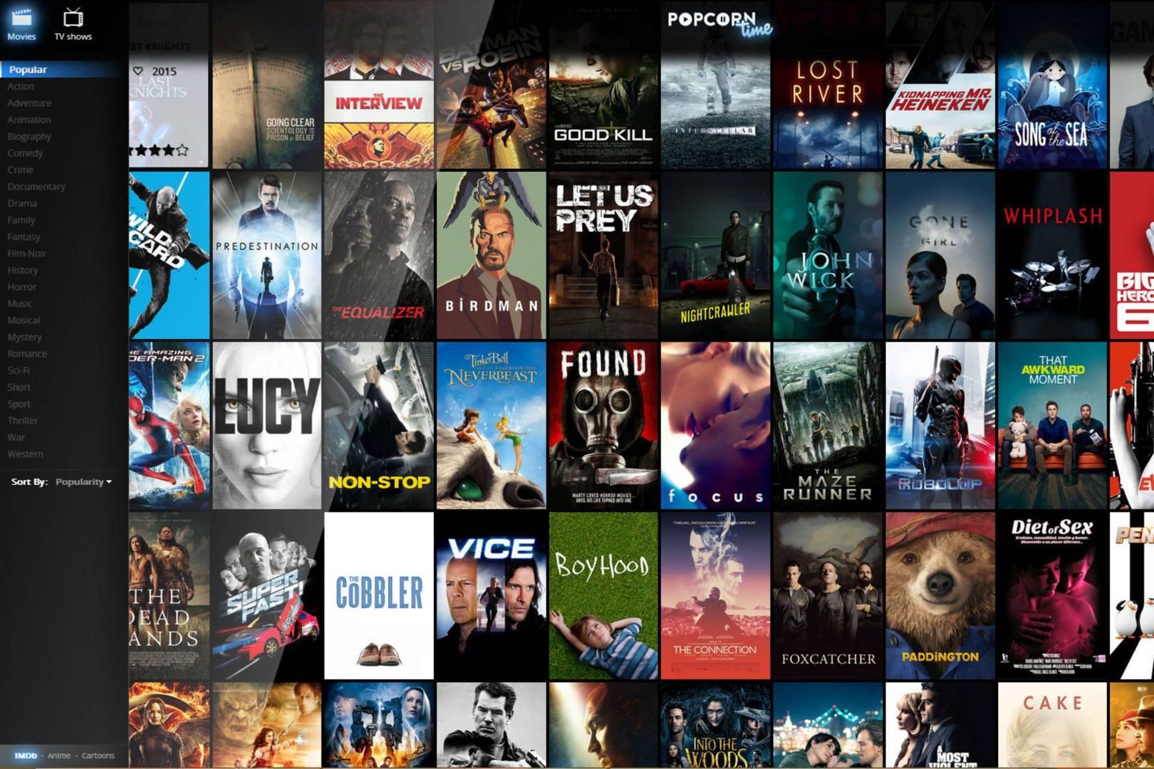 popcorn time 5.4 gratuit