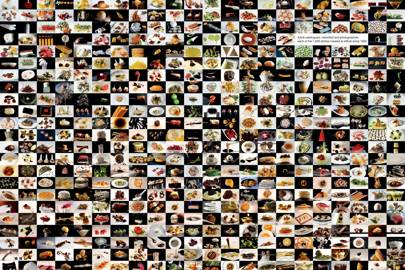 Adrià catalogued, classified and photographed  each of the 1,846 dishes created at elBulli since 1992