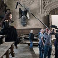 Bellatrix Lestrange in the Great Hall