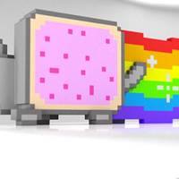 Nyan Cat Back