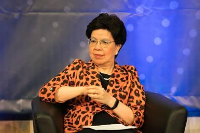 Margaret Chan, Director-General of the World Health Organisation