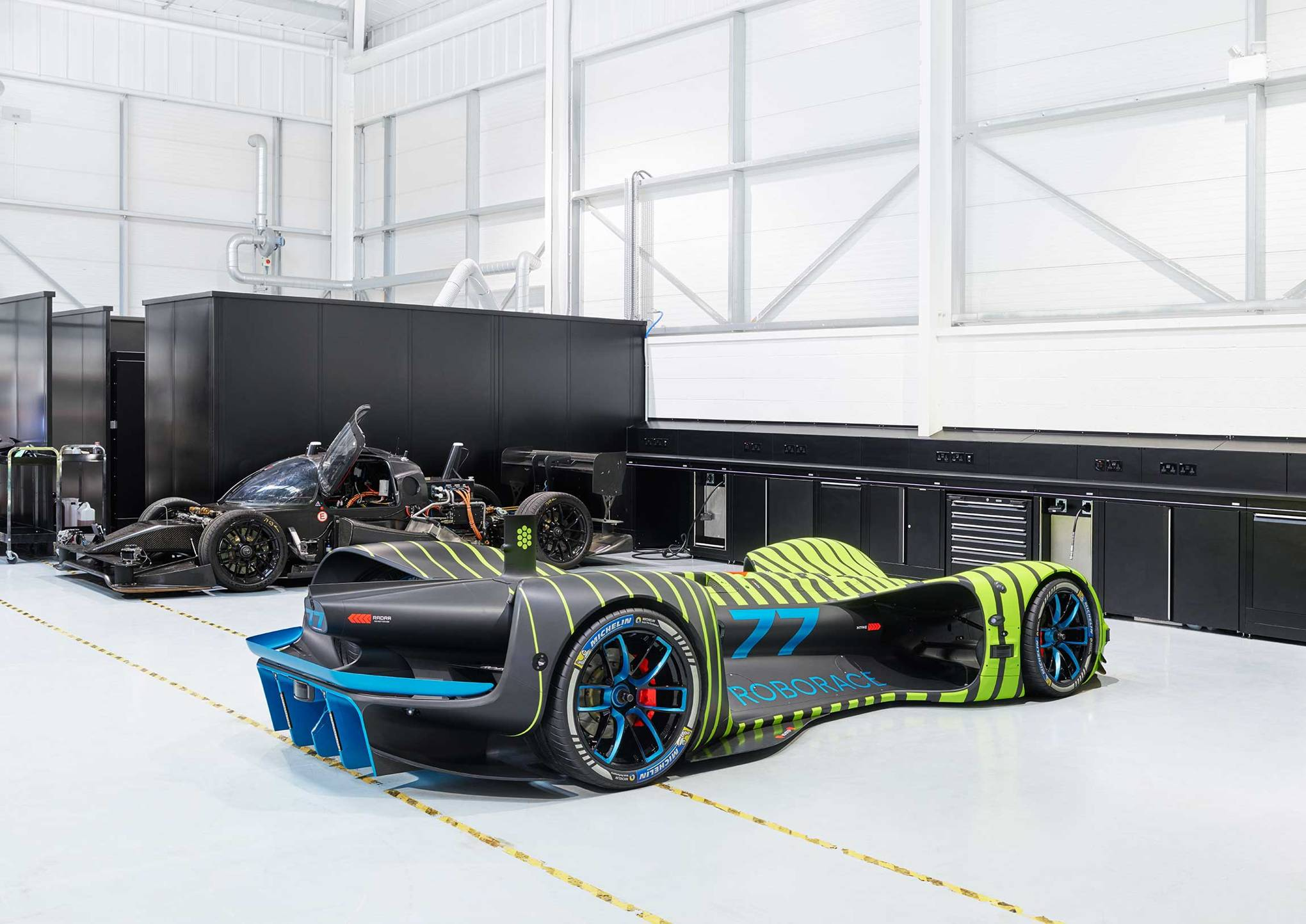 Roborace is building a 300kph AI supercar – no driver required | WIRED UK