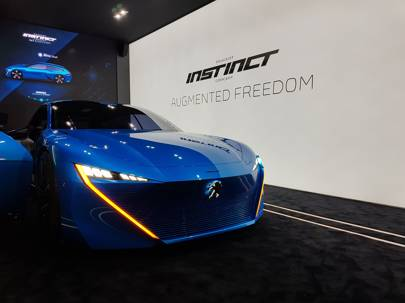 Peugeot Instinct concept previews self-driving future
