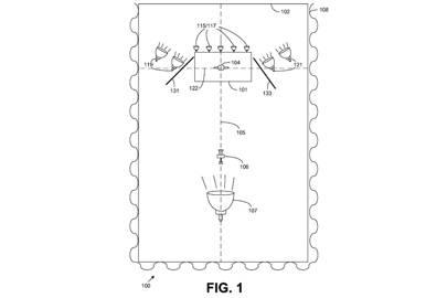 Patent US008676045 for Studio Arrangement. So revolutionary.