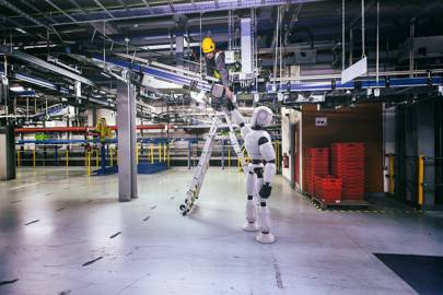 The autonomous collaborative robot could be assisting engineers on the factory floor by the year 2020