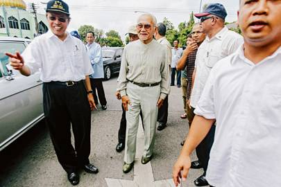 Sarawak governer Abdul Taib Mahmud's web of influence tends to cause discrepancies in local policy and law