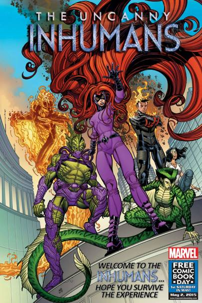 Exclusive: Marvel's first post-Secret Wars titles revealed