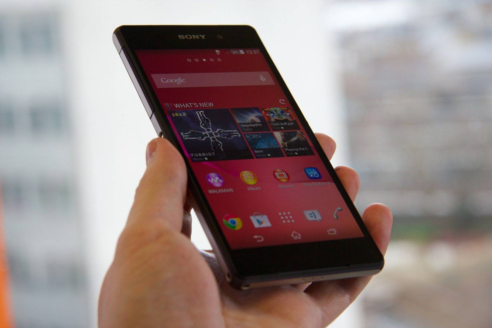 Sony Xperia Z2 - First look ahead of UK release | WIRED UK