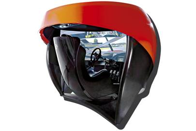 The Full Immersion Professional Racer's Simulator