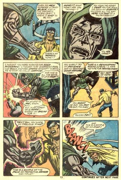 Luke's international incident with Doctor Doom remains a high point in both characters' histories