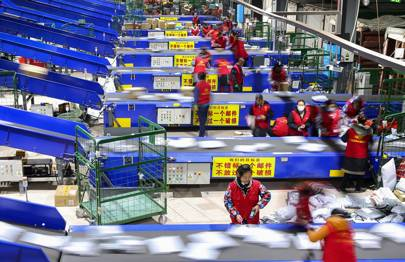 In China, the prestige of online shopping is fuelling a debt crisis