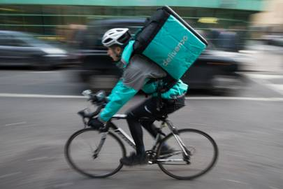 Deliveroo has raised more than £300m in two years