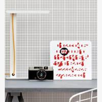 Mini Moderns: Homework Wallpaper