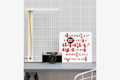 Mini Moderns: Homework Wallpaper
