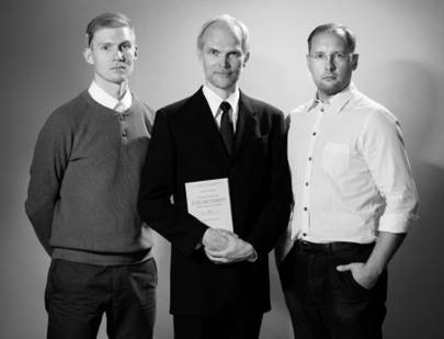 The Curious AI Company's co-founders: from left to right, CTO Antti Rasmus, Harri Valpola and COO Timo Haanpää
