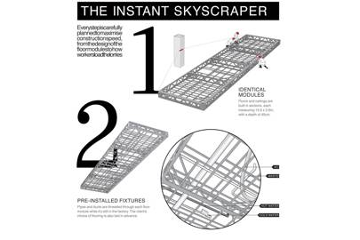 The instant skyscraper
