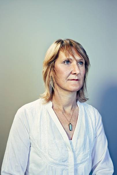 Claire Guest, whose breast cancer was detected by her pet, Daisy, before a core needle biopsy