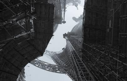 Sci-fi skycraper