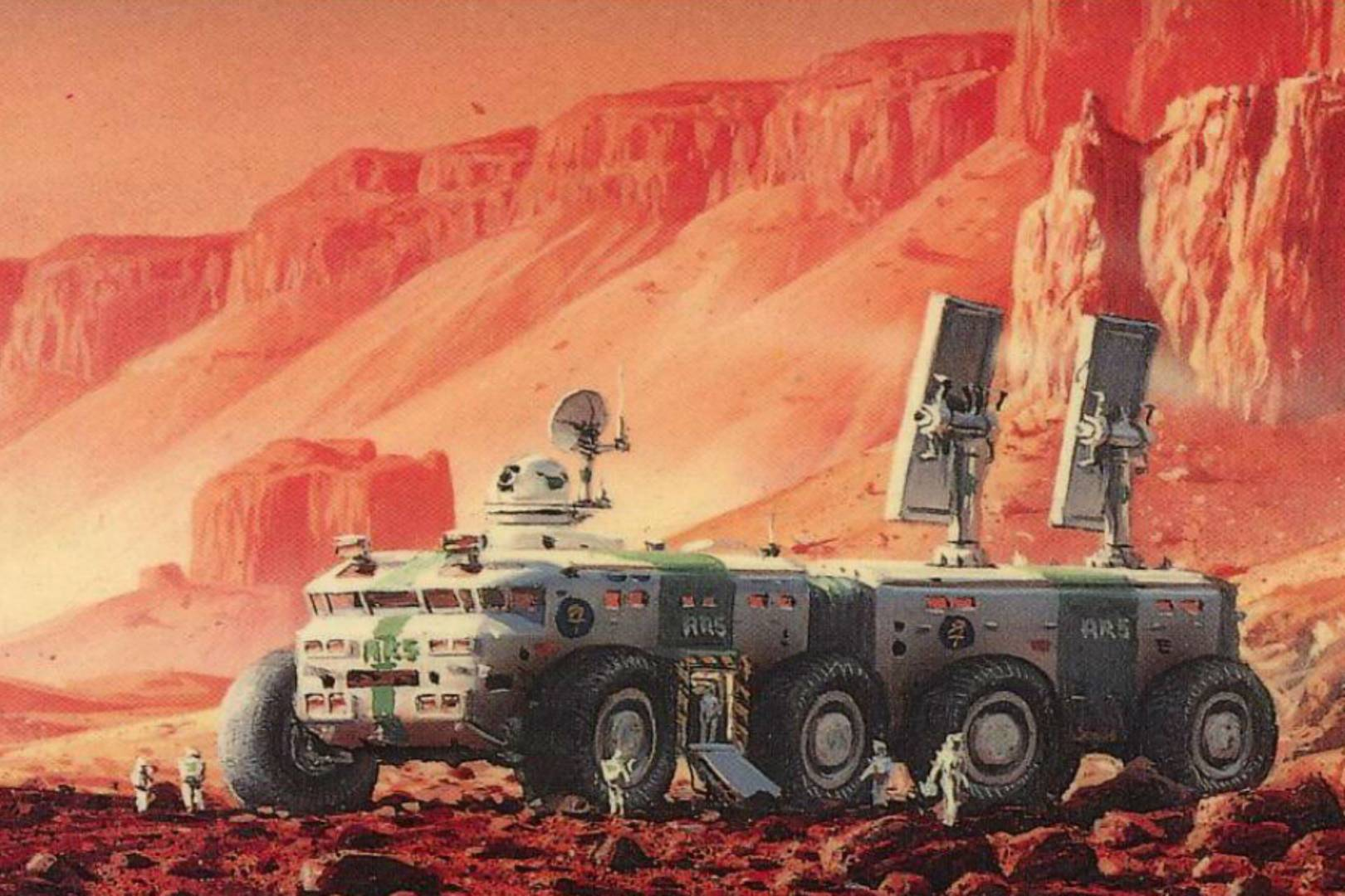 'Red Mars' could be sci-fi TV's 'Game of Thrones'