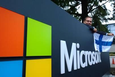 Ñnninen at Microsoft HQ