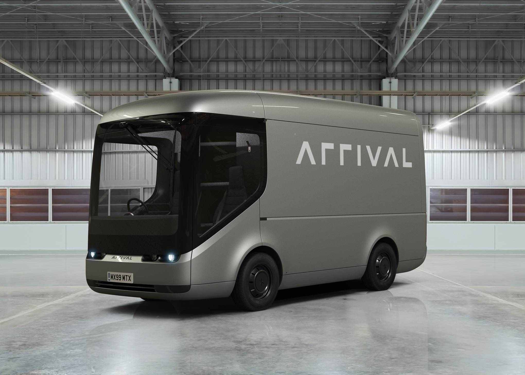 The Royal Mail is testing Arrival's electric trucks for moving post