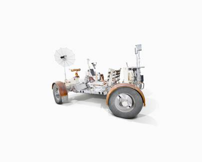 Lunar Rover training vehicle