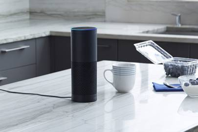 The Amazon Echo is always connected to Wi-Fi, allowing you to connect it to your home network and access cloud services